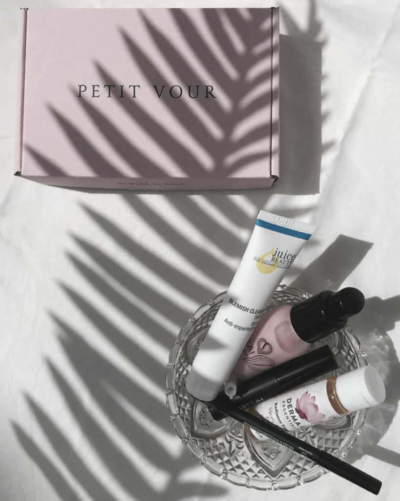Petit vour august box vegan and cruelty free beauty products