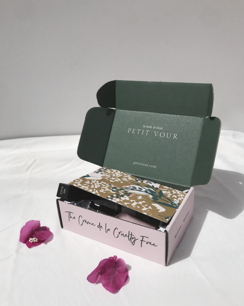 Petit vour august box vegan and cruelty free